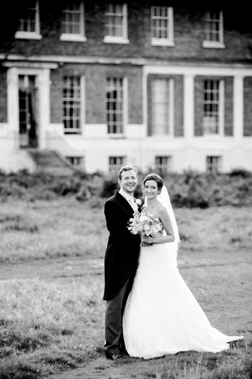Penny & James in the grounds of Bushy Park