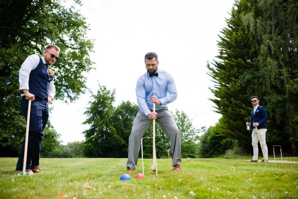 Nobody ever plays croquet apart from during a wedding
