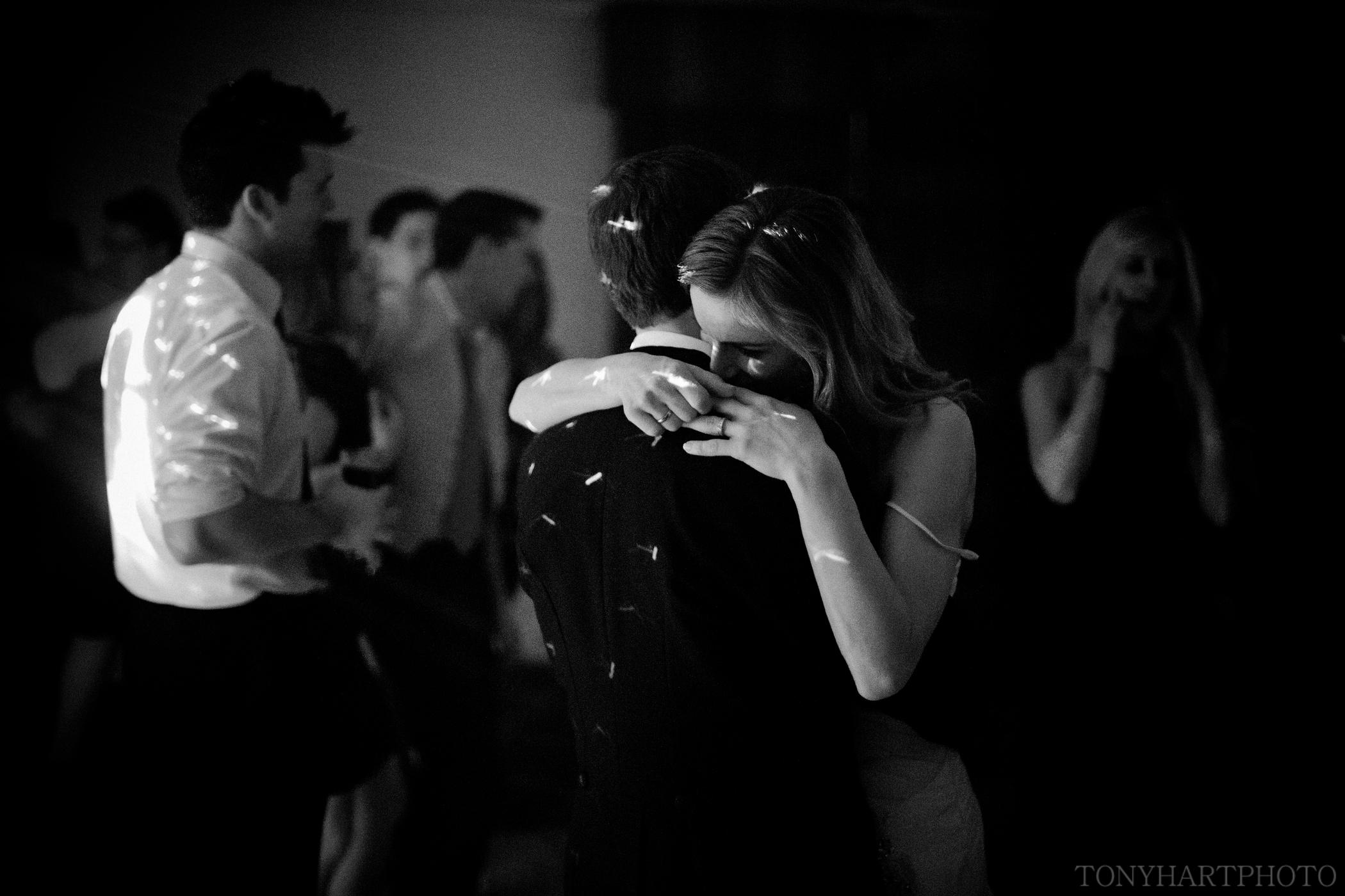 Justyna & Tom on the dancefloor at Frimley Hall Hotel - Romantic Wedding Photos