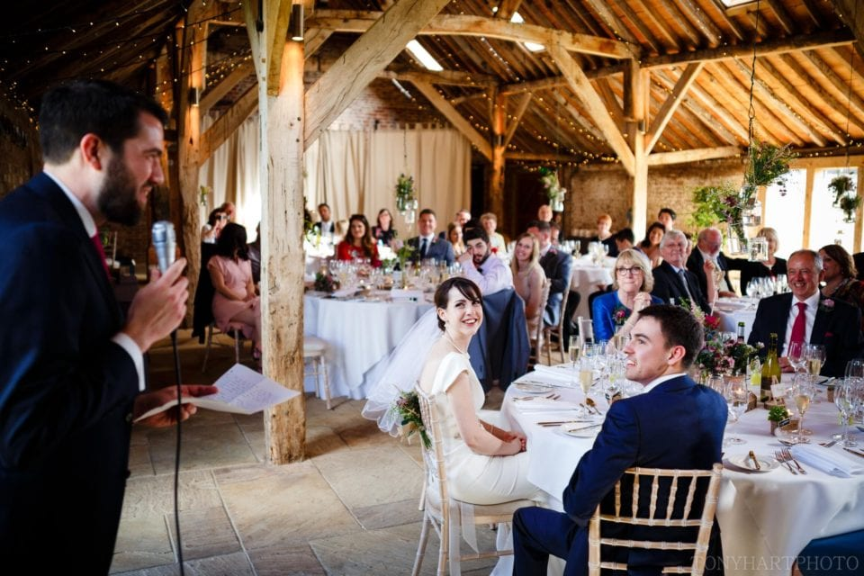 Speeches at the Long Barn