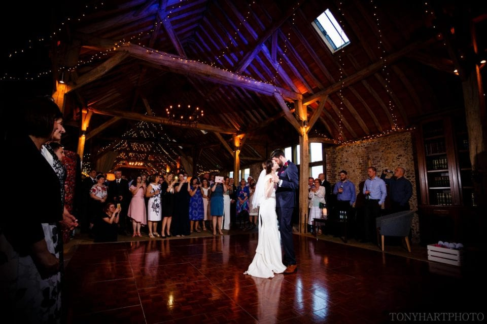 Long Barn Wedding First Dance