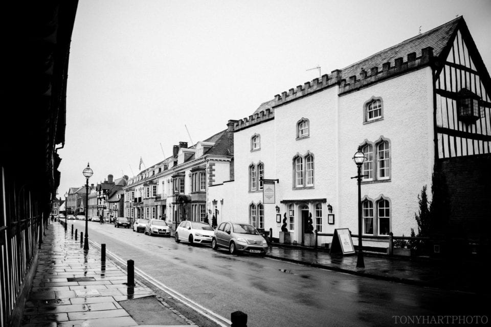 The Stratford Townhouse where Anna began her bridal prep.