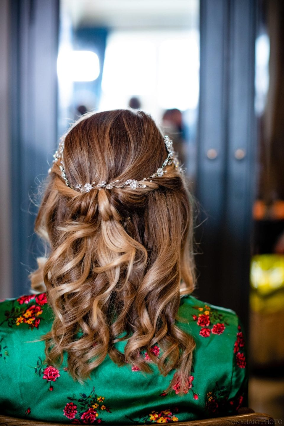 The back of Anna's hair