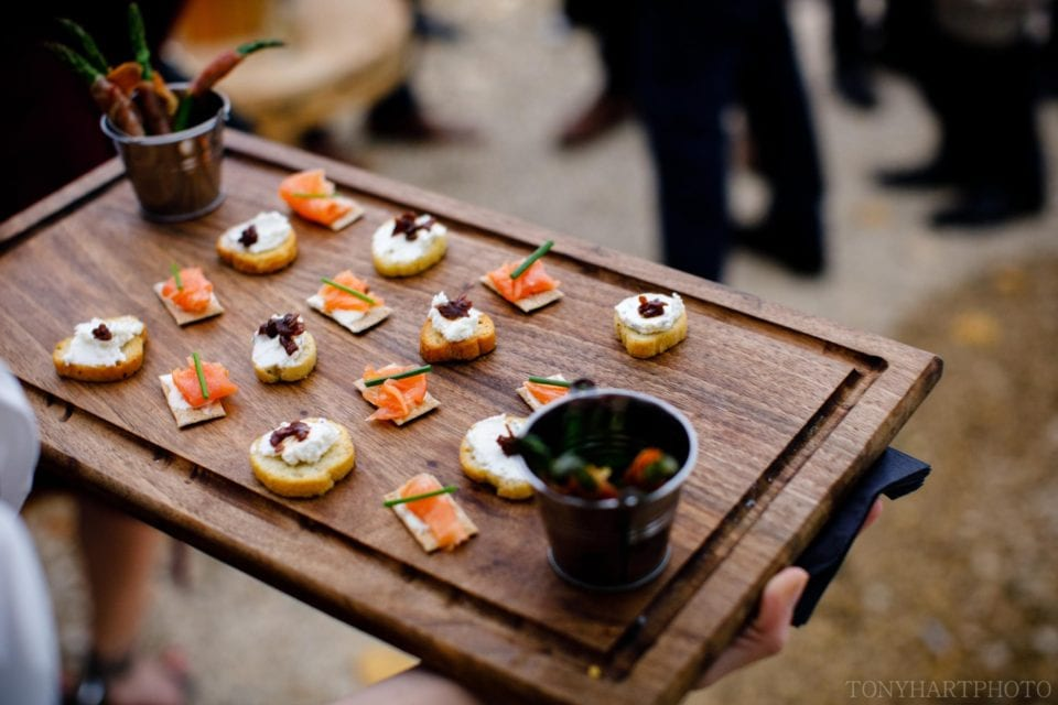Canapes from The Wild Oven