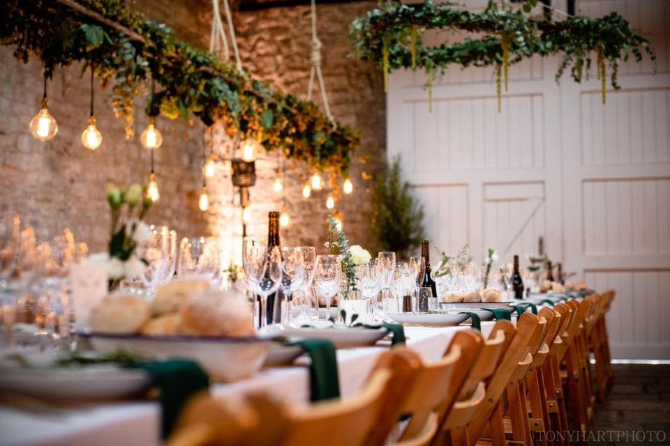 Banqueting tabe details
