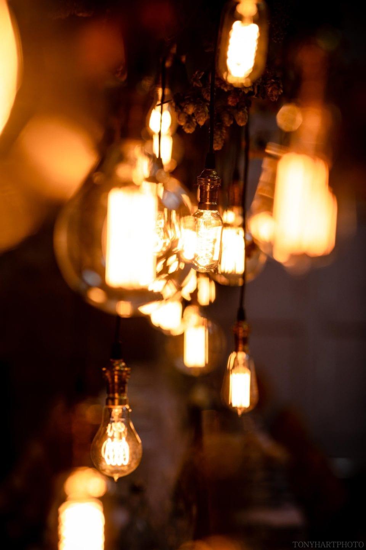 Vintage filament lights