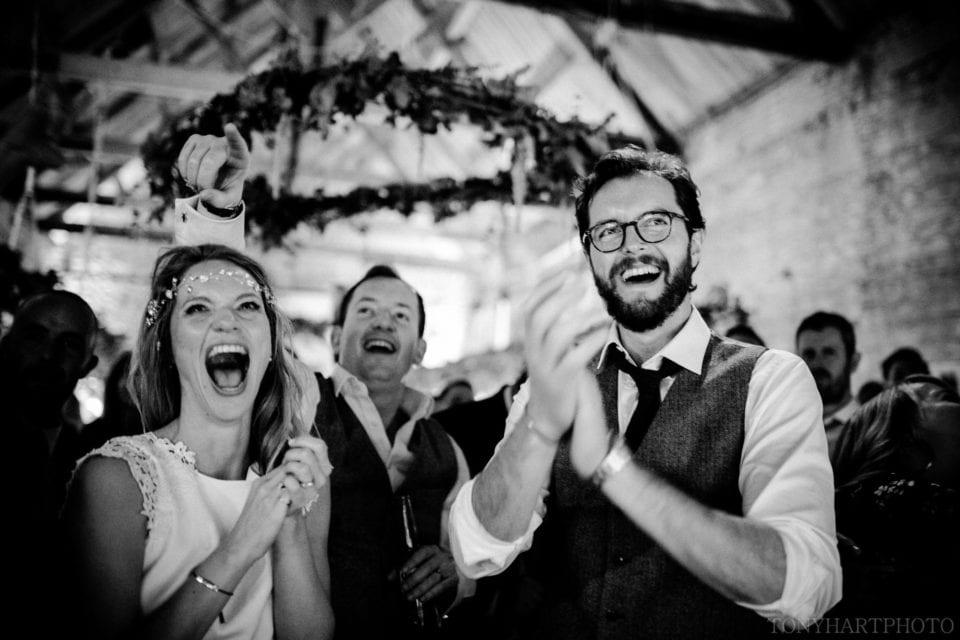 A delighted Anna & Al!