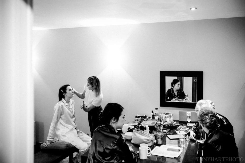 Northbrook Park Wedding Photography - Bridal Makeup