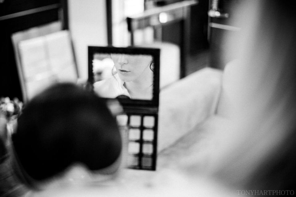 Northbrook Park Wedding Photography - Bridal makeup detail