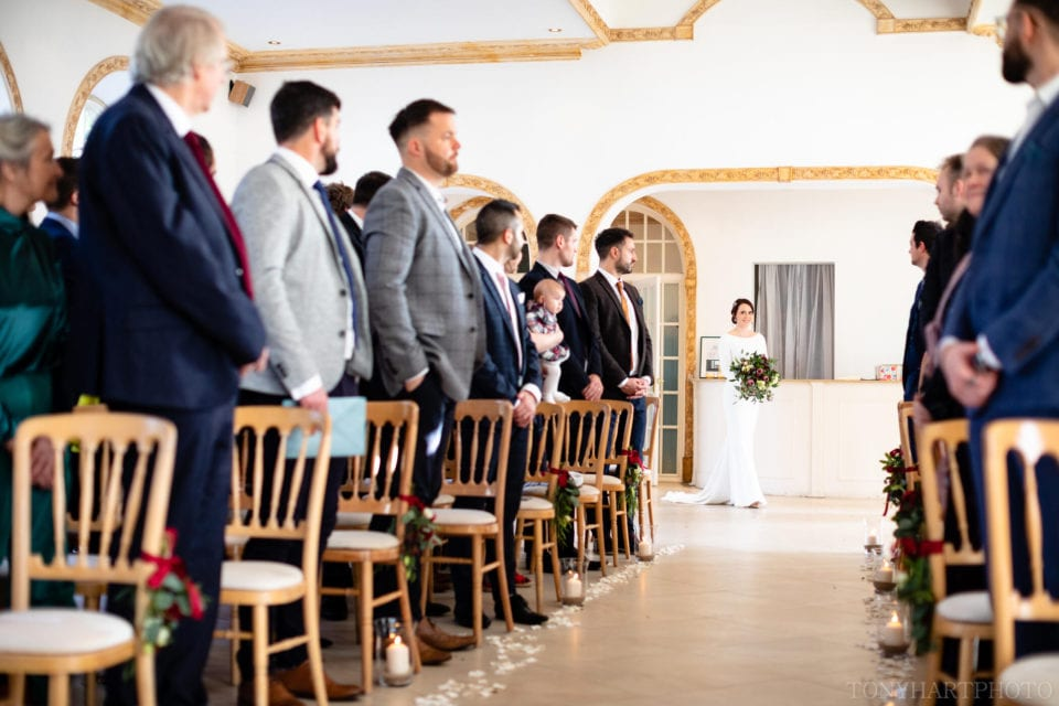 Northbrook Park Wedding Photography - Here comes the Bride!