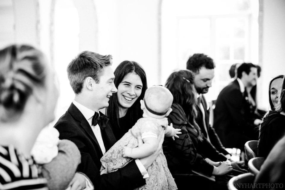 Guest at a Northbrook Park wedding