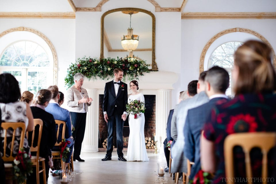 Northbrook Park Wedding Photography - Just Married