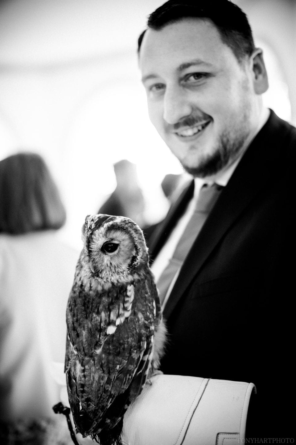 Guest with owl