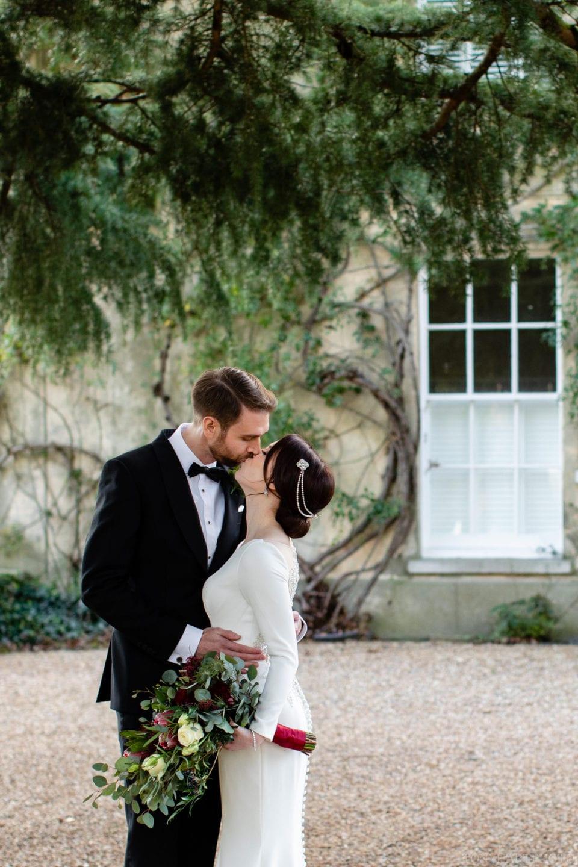 Northbrook Park Wedding Photography - Black Tie & Justin Alexander dress