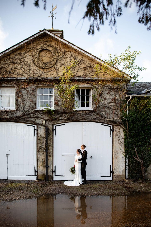 Bride & Groom at Northbrook Park