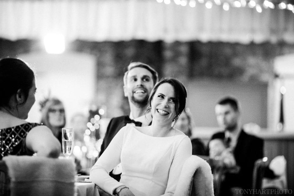 Documentary wedding photography at a Northbrook Park wedding by Tony Hart