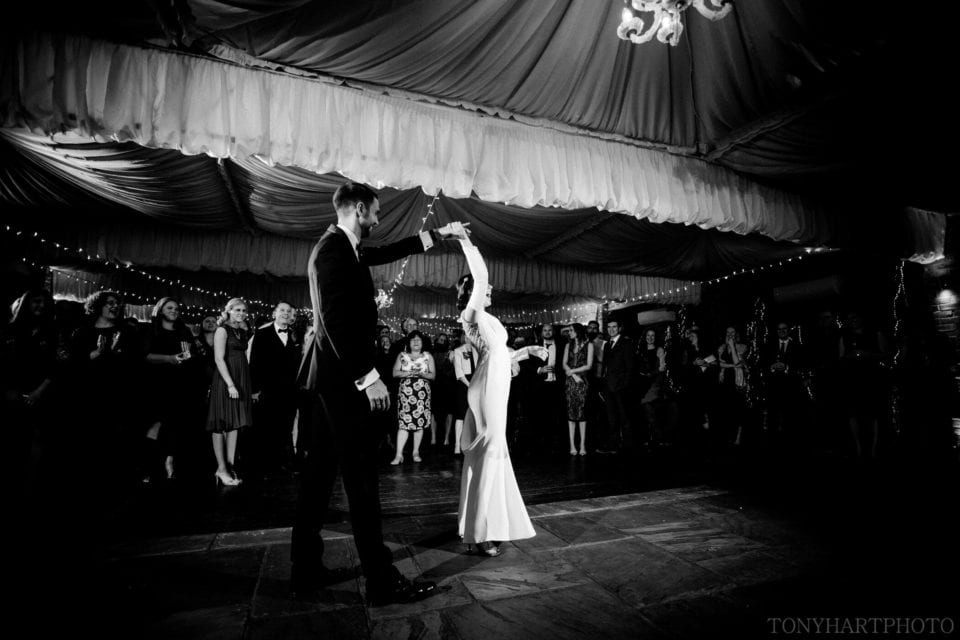 Northbrook Park Wedding Photography - Always time to fit in one more twirl