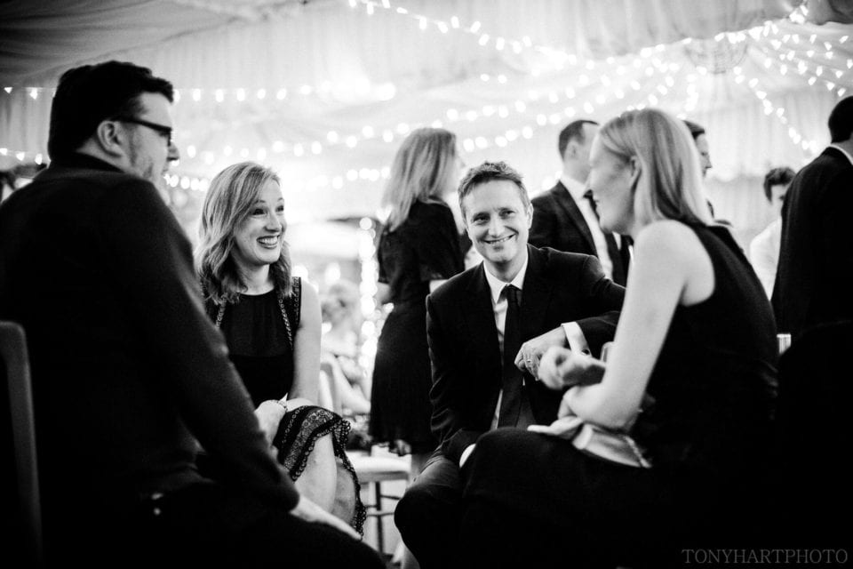 Northbrook Park Wedding Photography - I love these natural moments during the evening