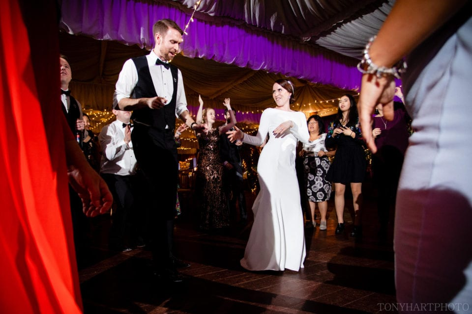 Northbrook Park Wedding Photography - Boogie nights in The Orangery