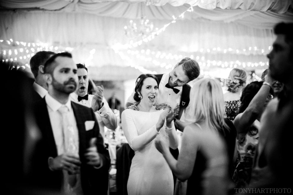 Northbrook Park Wedding Photography - Last dance in The Orangery