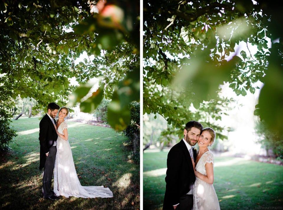 Tipi wedding portraits
