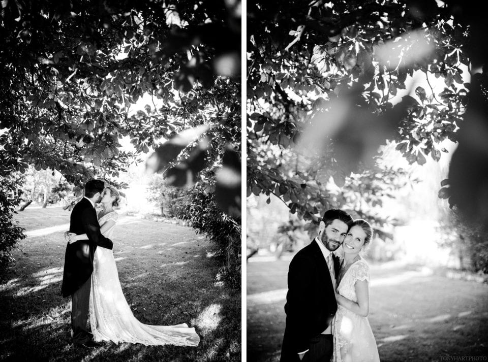 Surrey Tipi wedding portraits