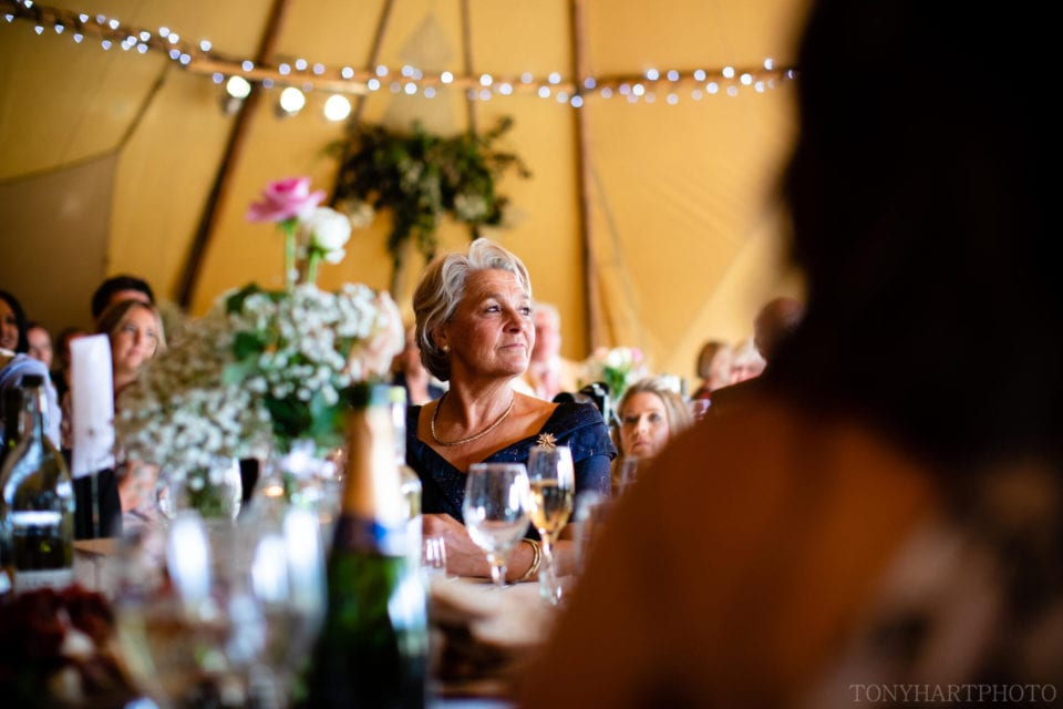 Tipi wedding - Mother of the Groom