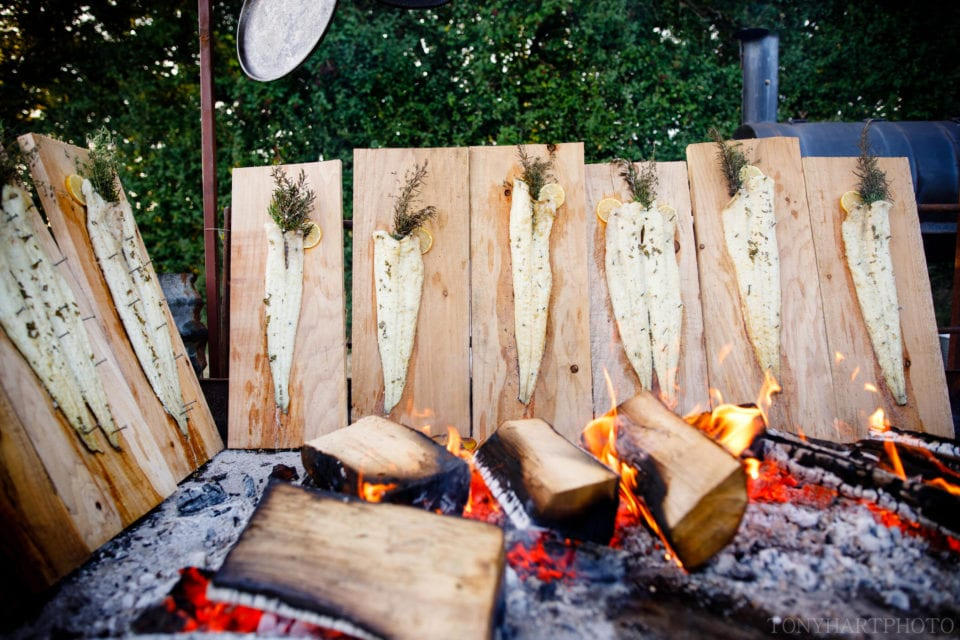 Wild Sussex open fire cooking