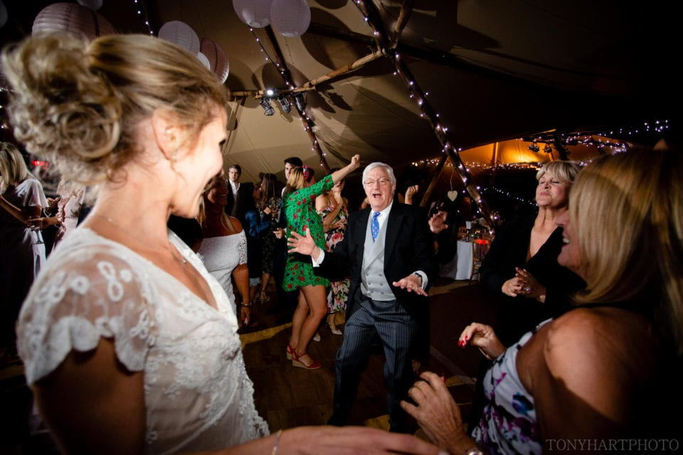 Boogie nights at the tipi wedding