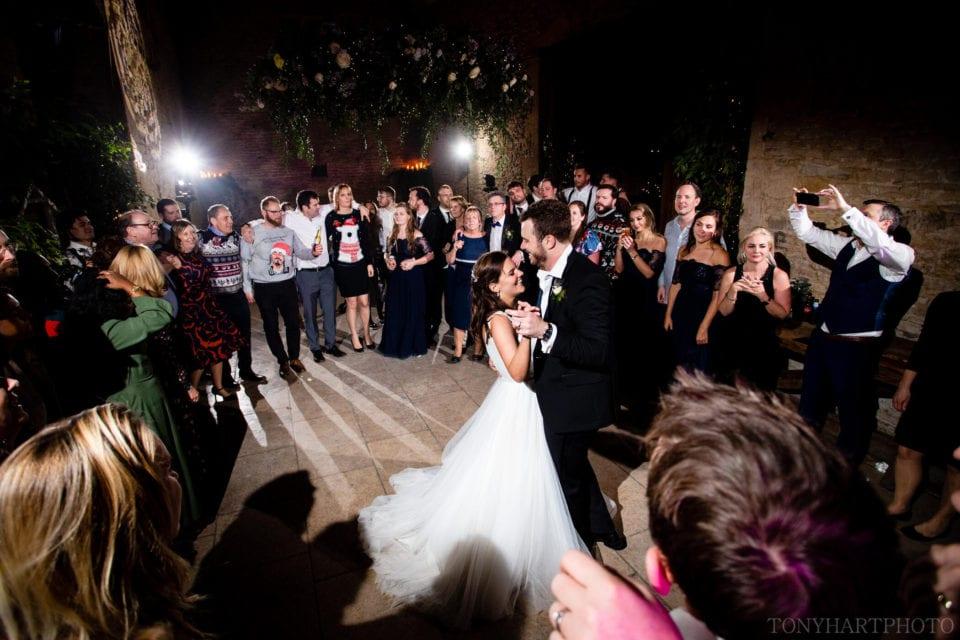 Stone Barn wedding dance