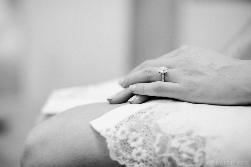 Lauren's engagement ring