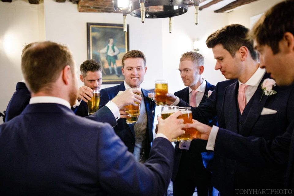 Pint for the boys