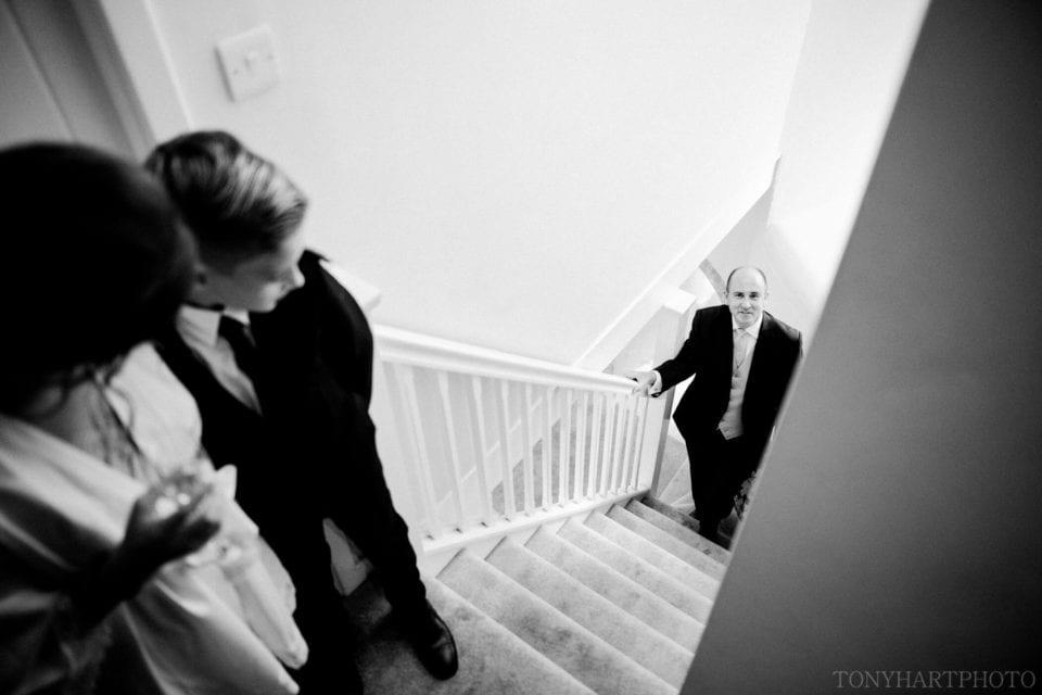 Gatehouse stairs, Farnham CAstle