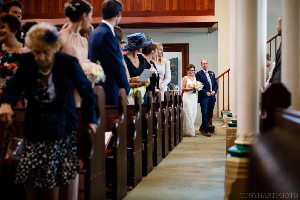 Here comes the Bride, Farnham URC