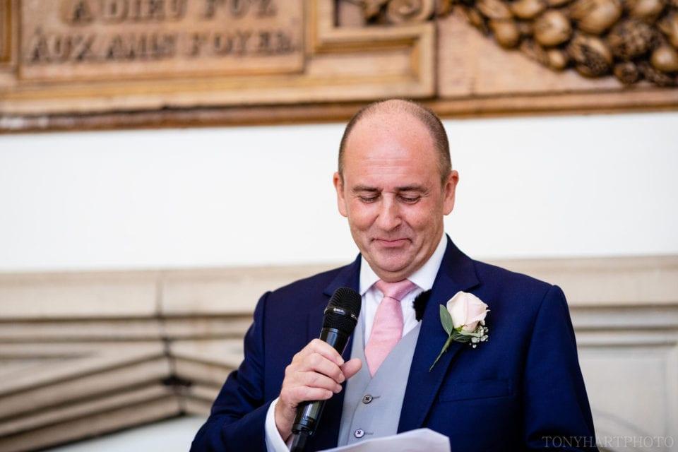 Father of the Bride speech - Farnham Castle