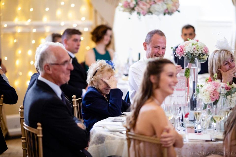 Farnham Castle - Granny reacts to the speeches