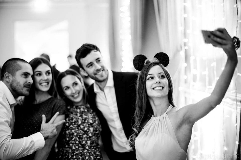 Dancefloor selfies