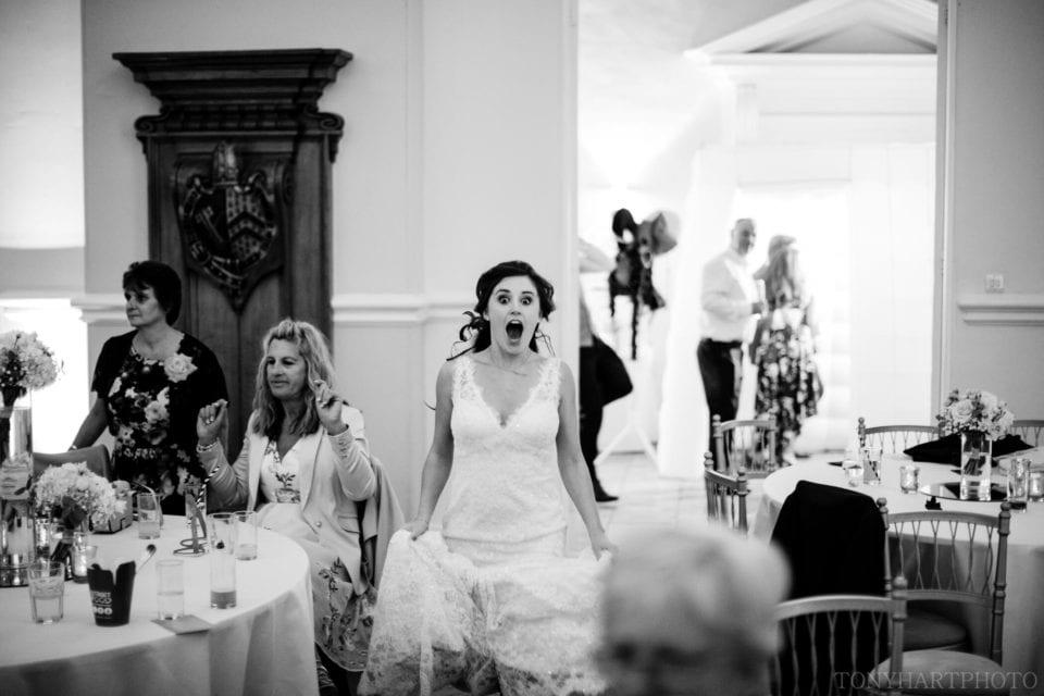 Lauren's BIG reaction to hearing her favourite jam on the dancefloor at Farnham Castle