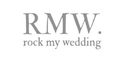 Logo for wedding website Rock My Wedding